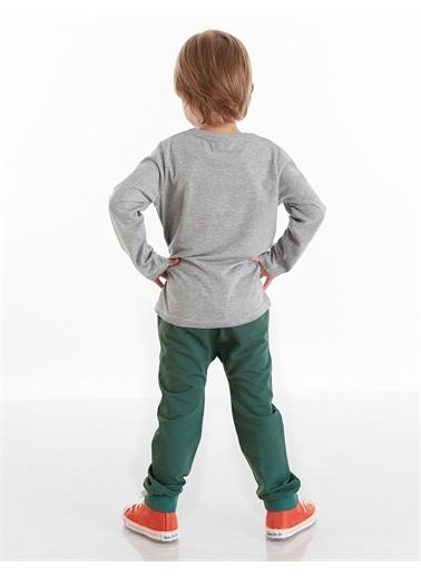 Mushi Wild One Erkek Çocuk Pantolon Takım Yeşil